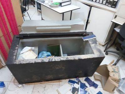 Delincuentes roban más de 20 millones de la Municipalidad de Nueva Italia