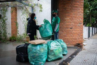 Exitoso inicio de recolección de materiales reciclables mediante plataforma Mi Barrio Sin Residuos