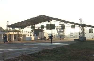 Megavacunatorio Aratirí: ultimarán detalles de instalación durante el fin de semana