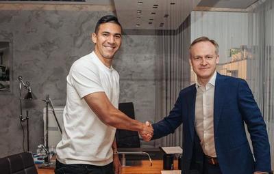 Dynamo de Moscú le da la bienvenida a Fabián Balbuena