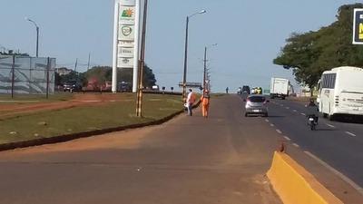 Vecinos del km 11 Acaray tendrán retorno en estación servicio Integral