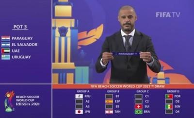 """""""Pynandí"""" van al Grupo A del Mundial de Fútbol de Playa"""