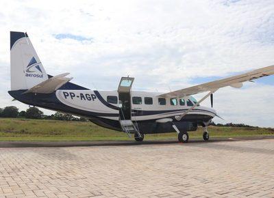 Aerosul lanzaría la ruta Foz de Iguazú – Asunción en agosto
