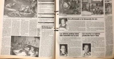 La Nación / Séxtuple homicidio en San Lorenzo: venganza, traición y drogas condimentaron el macabro crimen