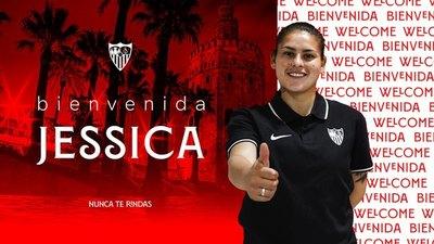 ¡Es oficial! El Sevilla anuncia a la paraguaya Jessica Martínez
