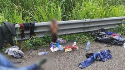 La triste historia de Wilder, la criatura de 2 años que encontraron solo en una carretera en México