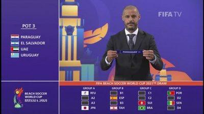 Los Pynandi con grupo definido en el Mundial de Fútbol Playa