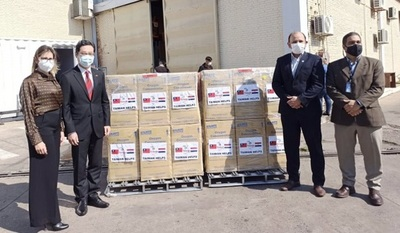 Llegan al país concentradores de oxígeno donados por Taiwán