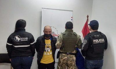 Expulsan  a brasileño buscado por homicidio y tráfico de drogas en su país