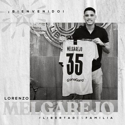 Libertad presentó a Lorenzo Melgarejo