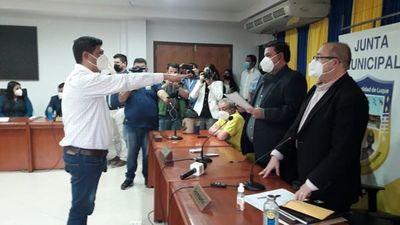 Sorpresiva elección de un liberal como intendente interino de Luque