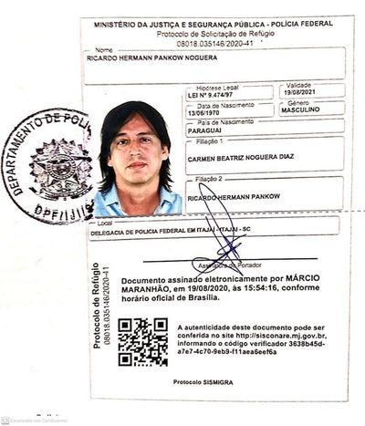 Pankow alega persecución de la Fiscalía y pide refugio político al Brasil