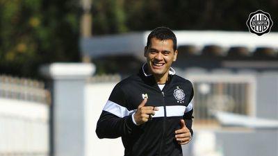 Olimpia: Willy se suma y Roque ya entrena con el grupo