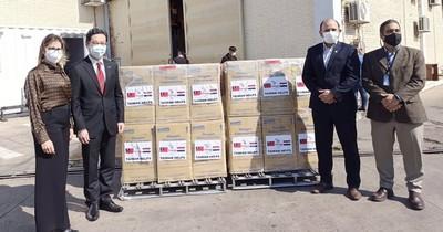 La Nación / Taiwán entrega concentradores de oxígeno para pacientes con COVID-19