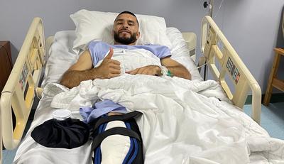 Cirugía exitosa para Antonio Bareiro