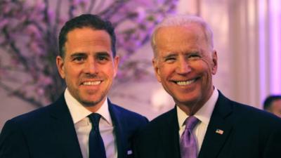 El hijo de Biden pondrá a la venta su arte por hasta 500.000 dólares la pieza