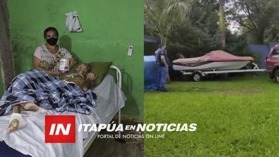QUEDÓ EN ESTADO VEGETATIVO TRAS SER ARROLLADO Y HOY NECESITA AYUDA