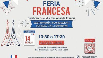 Feria Francesa será el próximo miércoles