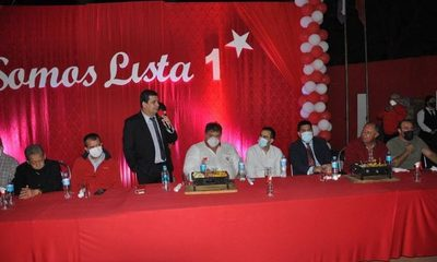 Municipales: Velázquez vaticina victoria de ANR, con apoyo de más de un millón de colorados