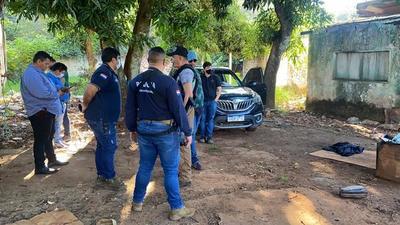 Tras allanamiento detienen a un joven y recuperan un vehículo