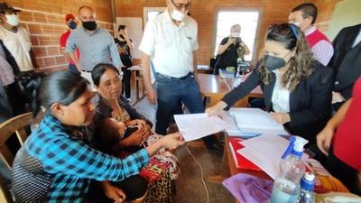 Justicia lleva asistencia a comunidades indígenas del Chaco