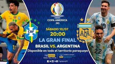 Brasil y Argentina van por la gloria eterna