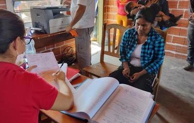 Seis comunidades indígenas fueron asistidas por el Ministerio de Justicia