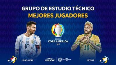 Conmebol eligió a los mejores jugadores de la Copa América