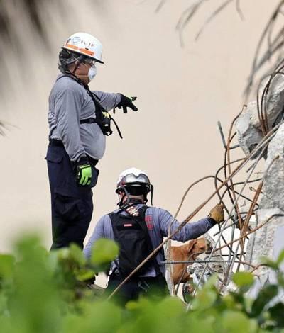 Se elevó a 86 la cifra de muertos por el derrumbe en Miami