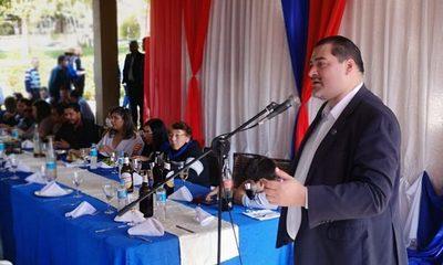 Liberales festejan aniversario del PLRA en CDE