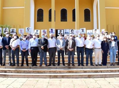 Líderes del campo participaron de ceremonia religiosa por la paz en el Norte del país
