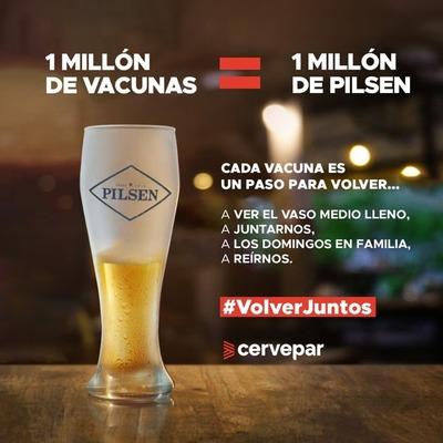 Un millón de razones para volver a la normalidad: Cervepar acompaña histórica vacunación en el Autódromo