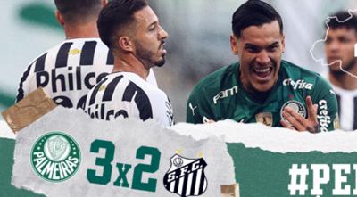 Gustavo Gómez convierte y es figura en la victoria de Palmeiras