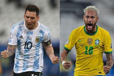 Antes de la final, Commebol eligió a Messi y Neymar como los mejores de la Copa