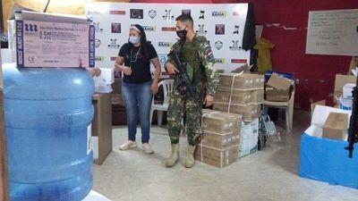 Fernando de la Mora recibió 6.000 dosis de Pfizer para vacunar el lunes