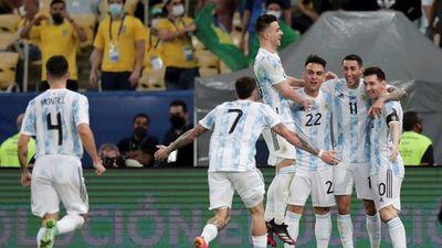 Argentina, campeón de América en el Maracaná
