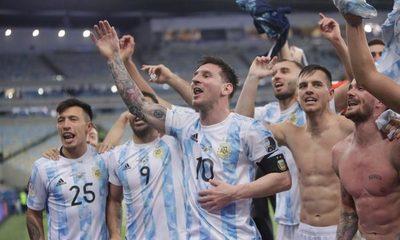 Batacazo de Argentina en final de Copa América