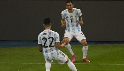 Di María, el 'ángel' del gol de una Argentina que vuelve a reinar en América