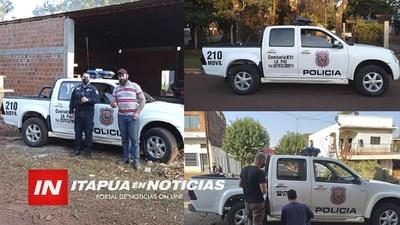 MECÁNICO SOLIDARIO DEJA A PUNTO PATRULLERA DE LA COMISARÍA 21 DE LA PAZ.