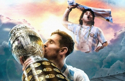 ¡Lo que Leo merecía! Así tituló la prensa argentina el primer título de Messi con la selección
