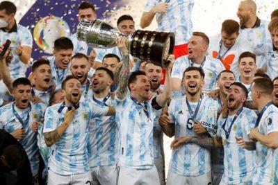 Argentina, campeón de la Copa América 2021