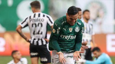 Gustavo Gómez marca en gran triunfo del Palmeiras