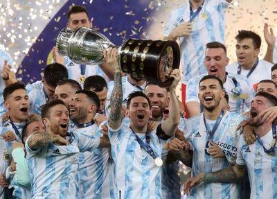 Argentina le ganó a Brasil y se consagró campeón de la Copa América