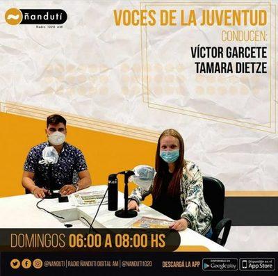 Voces de la Juventud con Tamara Dietz y Víctor Garcete