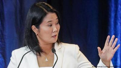 Fujimori anticipa que no reconocerá eventual victoria de Castillo en balotaje en Perú