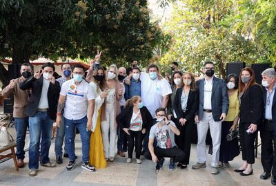 Partido Hagamos presentó a sus candidatos a concejales de Asunción