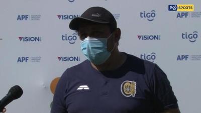 Julio César Cabrera, DT del Escobero