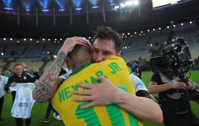 """""""Odio perder, pero disfruto de su título"""", palabras de Neymar a Messi"""