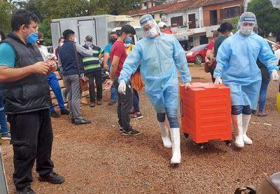 Itaipú entregó más de 30.000 platos de alimentos a personal de salud y pacientes con Covid
