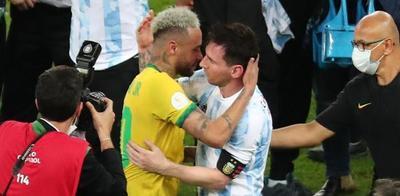 Emotivo mensaje de Neymar a Messi tras perder la final de la Copa América